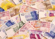 bankbiljetten in guldens