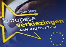 Flyer Europese verkiezingen
