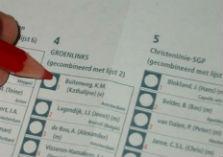 Stembiljet met lijstecombinaties