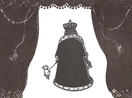 Vertrekkende koningin