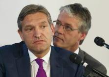 Sybrand van Haersma Buma en Arie Slob