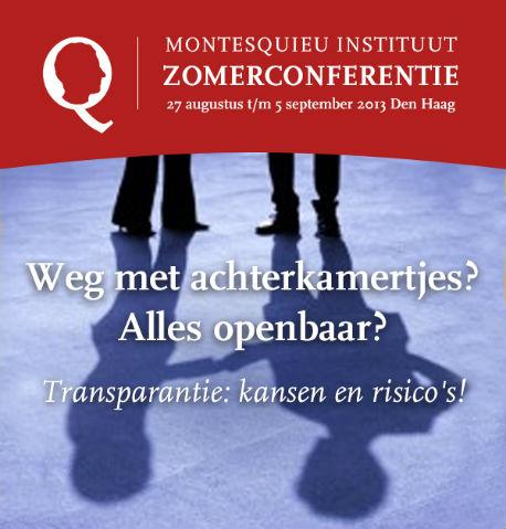 Poster zomerconferentie