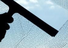 Wisser die raam doorschuinend maakt