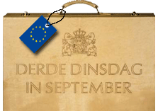 Prinsjesdagkoffertje met Europees-label