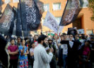 Betoging in de Schilderswijk