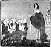 Sinterklaas en het kabinet Kuyper