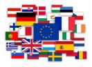 Collage Europese met lidstaat-vlaggen