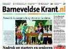 Voorpagina Barneveldse Krant
