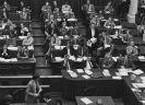 Oude vergaderzaal van de Tweede Kamer in de tachtiger jaren van de vorige eeuw