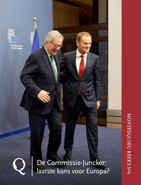 Omslag bundel met Juncker en Tusk