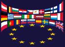 Vlaggen lidstaten en Europese ster