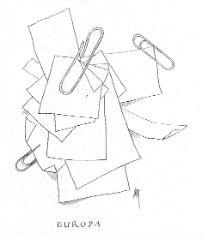 Papiertjes en paperclips