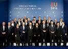 Groepsfoto van een Raad van Ministers